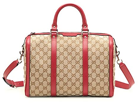 e708d874637 Gucci Vintage Web Original GG Canvas Boston Bag  Amazon.co.uk  Clothing