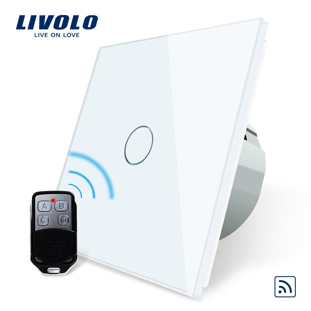 LIVOLO Funk Schalter mit Fernbedienung mit LED Anzeige Licht ...