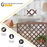 Raised Garden Bed Planter Box with Trellis for