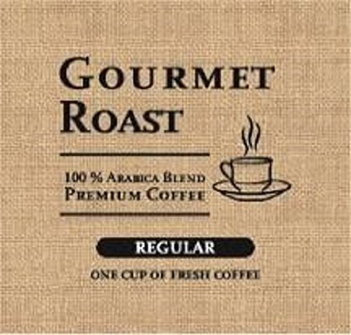 - Gourmet Roast Regular 1-Cup Coffee Pod, Case Of 200