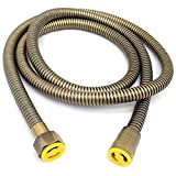 Replacement Bath Shower Hose,1.5m Handheld Shower Head Hose Extra Long Showerhead Tube with 1/2'' Connector (Light Bronze)