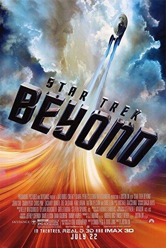 Star Trek ~ Beyond 2016 ~ Original Double-sided Regular Movie Poster
