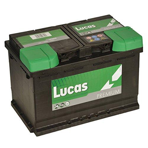 LUCAS LP 096 CAR BATTERY 70Ah 640A: