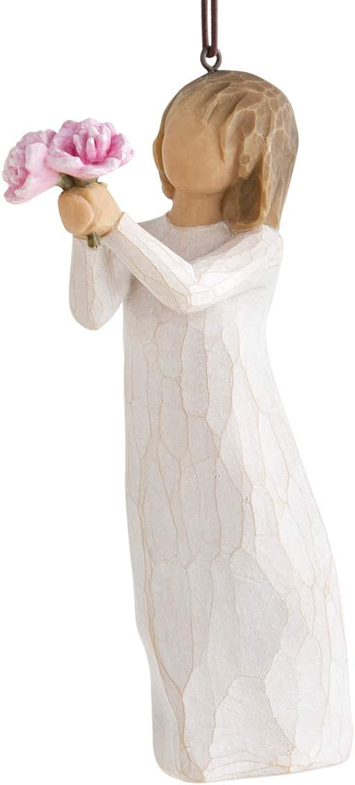 Willow Tree Thank You Ornament, Sculpted Hand-Painted Figure