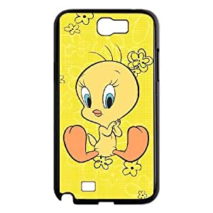 Generic Cartoon Tweety Bird Pattern Plastic Hard Case for Samsung Galaxy Note 2 N7100