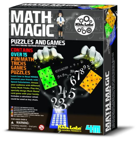 4M Math Magic Puzzles and Games