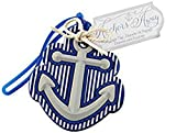 100pcs Anchors Away Luggage Tag For Baby Shower Gifts & Wedding Favors