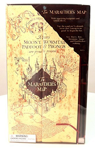 (Wizarding World of Harry Potter Electronic Marauder's Map w/ Moving Footprints)