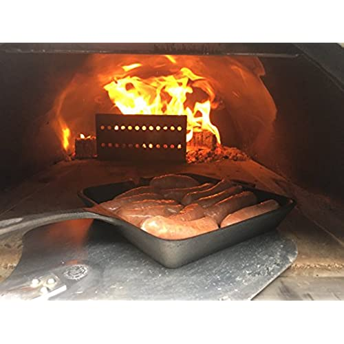 ilfornino fireguard flame guard wood fired pizza oven log holder