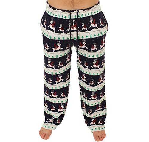 Prancing Reindeer Holiday Sweater Pants