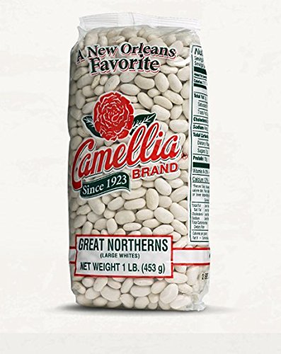 Camellia Brand - Great Northern Beans, Dry Beans (One Pound)