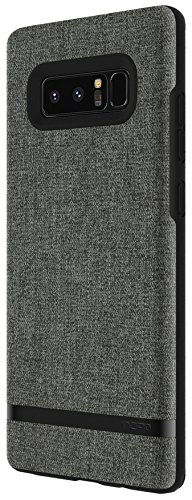 new product f34fa 9cb23 Incipio Carnaby Samsung Galaxy Note 8 Case [Esquire Series] with Co-Molded  Design and Ultra-Soft Cotton Finish for Samsung Galaxy Note 8 - Forest Gray