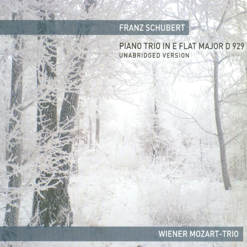Schubert Piano Trio In E Flat Major D 929 (Vienna Mozart Trio)