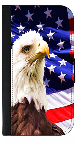 American Bald Eagle TM PU Leather and Suede Case Compatib...