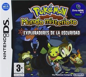 pokemon mundo misterioso exploradores de la oscuridad ds