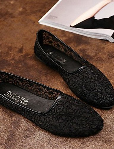ShangYi Women's Shoes Flat Heel Flip Flops/Comfort Sandals Outdoor/Office & Career/Dress Black/Brown/White Beige lZN3WifzWe