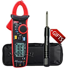 NKTECH TL-1 Screwdriver UNI-T UT210E Mini Handheld RMS AC DC Current Voltage Mini Digital Clamp Meter Resistance Capacitance 2000 Counts Ammeter Voltmeter Tester Mulitmeter