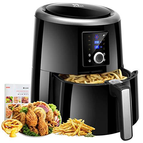 Habor Air Fryer XL, 5.8QT Oilless Air Fryer Ove...