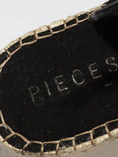 Sandales Pieces amp; Noir Chaussures psMelinda Claquettes Suede Femme xnnPHUI