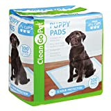 Clean Go Pet Puppy Pads, 100-Pack – Leakproof, Five-Layers, Eight-Hour Protection, Scented to Attract Puppies Review