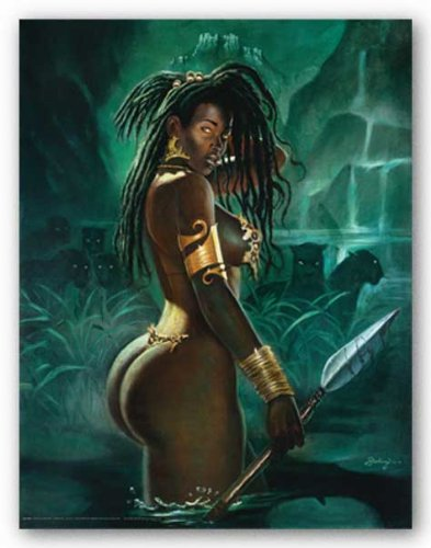 "Warrior by Sterling Brown 14""x11"" Art Print Poster"