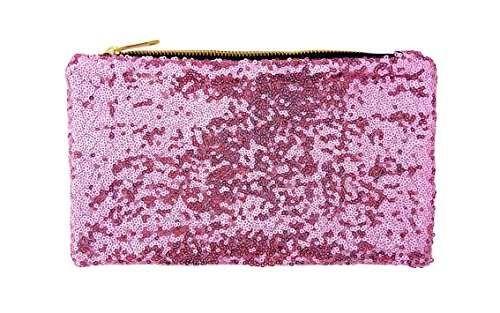 Sequins Evening Purse Pink Bag Party Bag Women's Handbag Chezi Glitter Small EwqOpfOR
