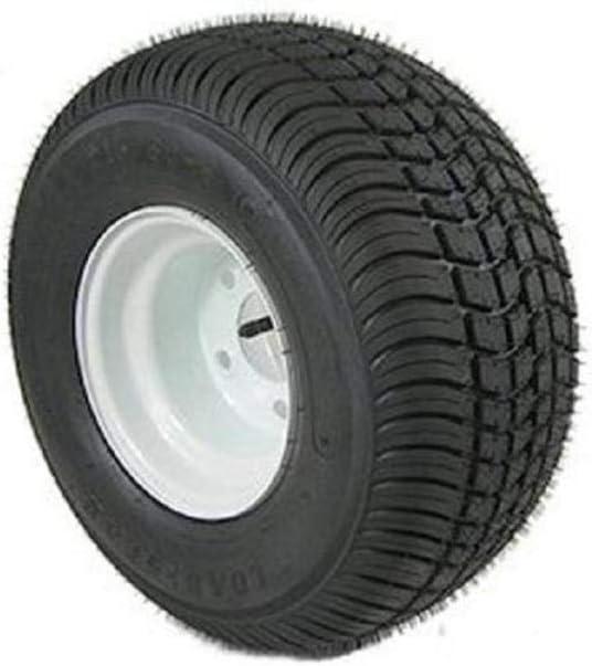 American Tire 3H390 205/65-10 Tire & Wheel (C) 5 Hole / White