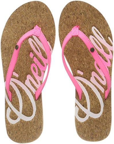 Logo Pink Flip Infradito Pink Flops 4091 Cork Shocking O'neill Fw Donna PqZg55