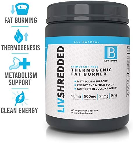 LIV Body Thermogenic Metabolism Vegetarian product image