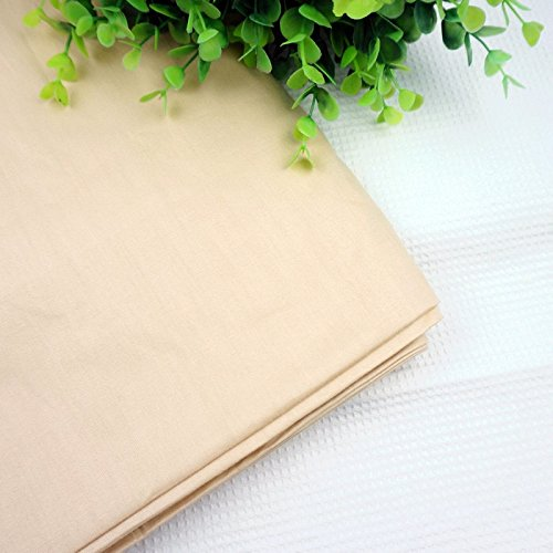 Meter Light Khaki Tilda Doll Skin Fabric 100 Percent Cotton Solid Color Twill Cloth For Patchwork Quilting Flesh Tissue 116x100 Centimeter