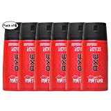 AXE Mature Deodorant Body Spray (150ml) (Pack of 6)