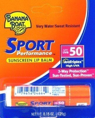 Banana Boat SPF # 50 Sport бальзам для губ 0.1oz. (На примере 6)