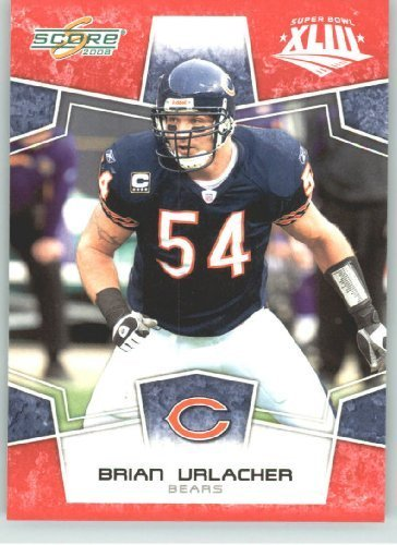 2008 Donruss - Score Limited Edition Super Bowl XLIII # 55 Brian Urlacher - Chicago Bears - NFL Trading ()