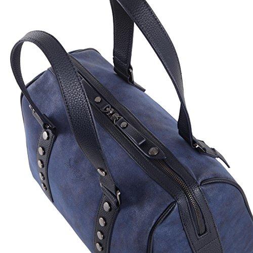 Funbag Kurzgriff Tasche / Henkeltasche Sunny FS11/03 in verschiedenen Farben schwarz