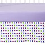 Botanical Purple pearl Crib Skirt - Best Reviews Guide