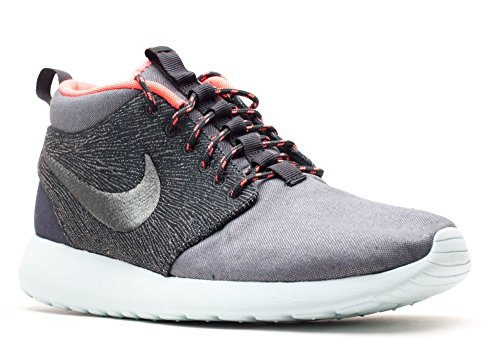 Nike Men Roshe Run Mid Qs Fashion Sneaker 585898-333 Hasta Alga Colpita Pugno