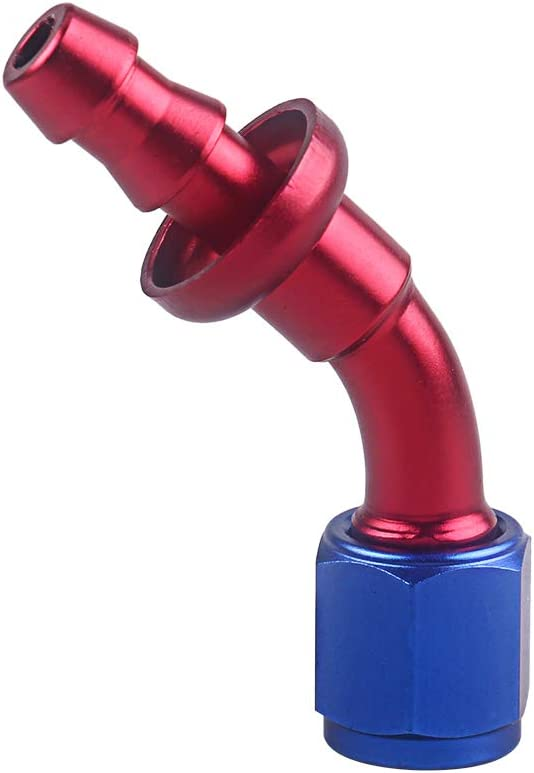 Extr/émit/é de tuyau /à verrouillage par pression AN4 extr/émit/é de tuyau /à 90 /°