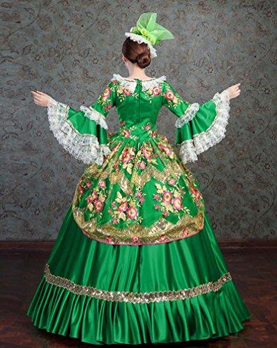 9874010e71bc Zukzi Women s Gothic Victorian Lolita Masquerade Dresses Ball Gowns
