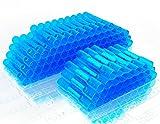 #9: MONOLIT 100pcs BLUE HEAT SHRINK BUTT CONNECTORS, Waterproof Marine Automotive Wire Electrical Connector Kit, 14-16 AWG