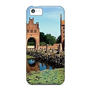 New Style Tpu 5c Protective Case Cover/ Iphone Case - Wonderful Castle In Demark