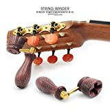 """ROSEN"" Handcrafted Wooden Guitar String Winder by"