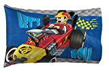 Disney Junior Mickey Mouse and The Roadster Racers 20' x 30' Reversible Pillowcase