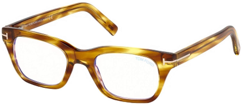 Eyeglasses Tom Ford FT 5536 B 045 shiny light brown