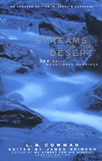 Streams in the Desert: 366 Daily Devotional Readings, An Updated Edition in Today's Language (031023011X) | Amazon Products
