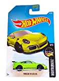 Hot Wheels 2017 Nightburnerz Porsche 911 GT3 RS 117/365, Neon Green