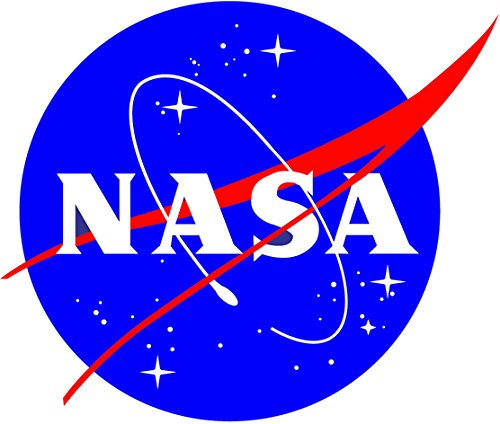 Atomic Market NASA Seal USA Space Cosmos Logo Vinyl Sticker Decal