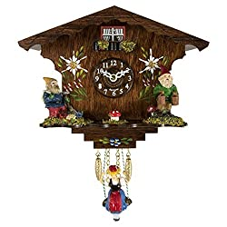 Trenkle Uhren ANNALIESSE Black Forest Swinging Girl Clock #56000 sold by Hermle