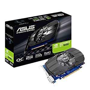 ASUS PH-GT1030-O2G - Tarjeta gráfica (NVIDIA GeForce GT 1030, 2 GB ...