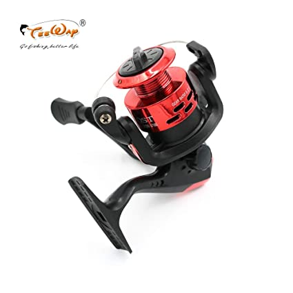 Amazon.com: JPONLINE Fishing Reel Small Reel Front Drag ...