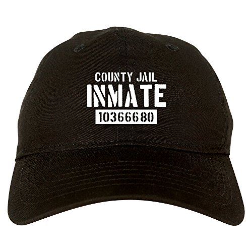 (Kings Of NY County Jail Inmate 666 Halloween Costume Mens Dad Hat Baseball Cap)